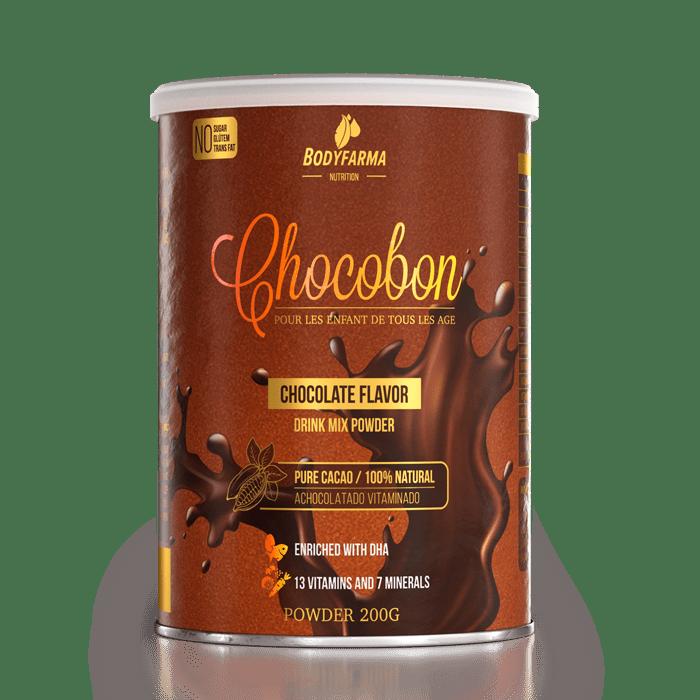 Achocolatado polivitamínico Chocobon da Bodyfarma Nutrition