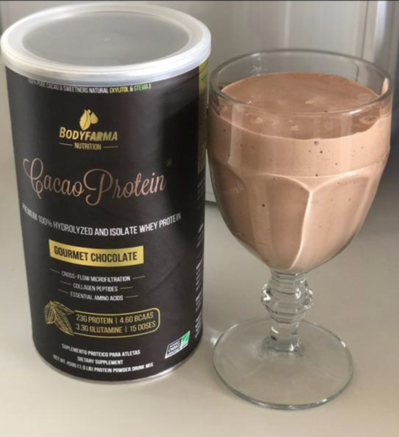 Cacao Protein Gourmet Chocolate 450g