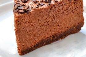 Torta Gelada Mousse de Chocolate