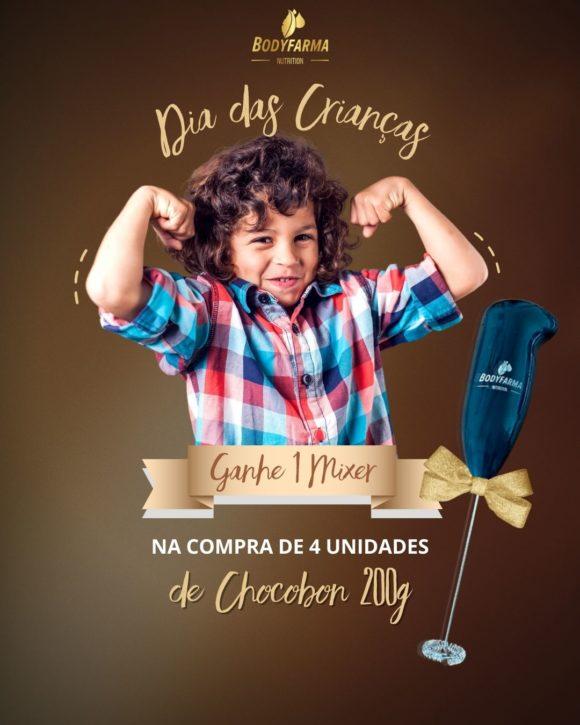 Dia das crianças Bodyfarma