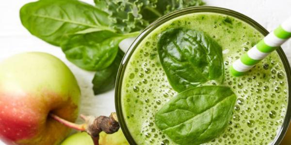 Vitamina de Maçã e Espinafre para emagrecer e dar energia