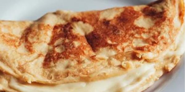 Crepioca de Whey Vanilla Protein