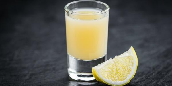 Shot de Limão e Pimenta com Xylitol+